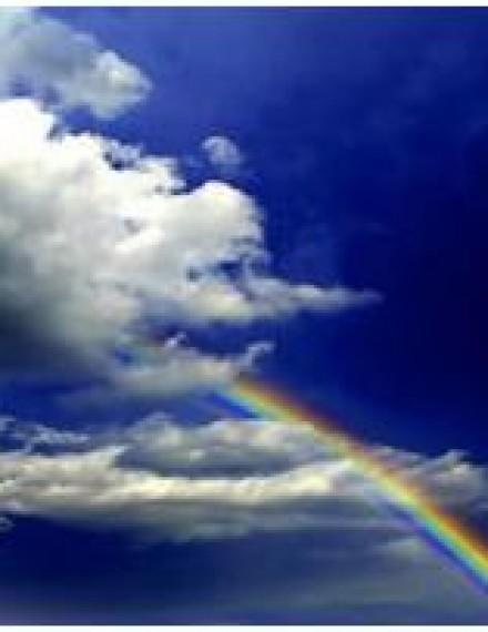 雨後彩虹 風光更美